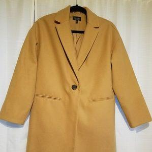 Topshop camel jacket. NWOT